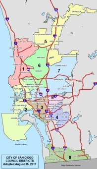 SD City Districts